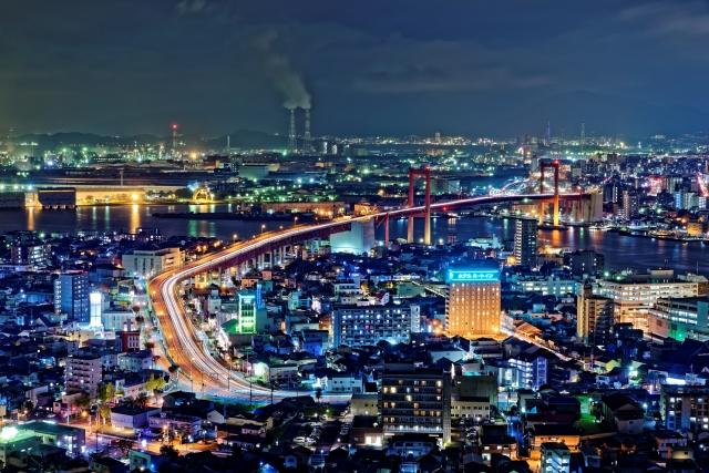 北九州市の工場夜景は絶対見るべき│魅惑的な時間を過ごすデートに