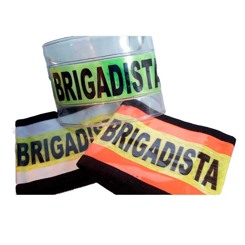 Comprar Brazaletes de brigadista para emergencias bogota