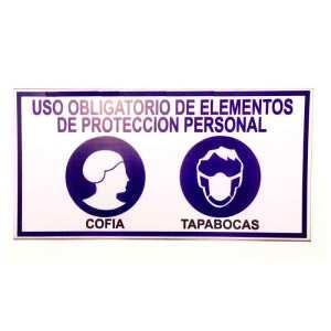 Comprar Señalizacion uso obligatorio de elementos de proteccion personal Bogota