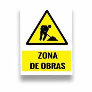 Señalización Zona de obras
