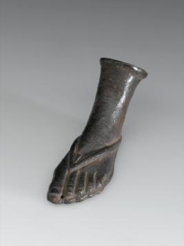 Votive left foot science museum