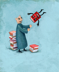 Illustration by Andrice Arp, courtesy of BookMooch.com