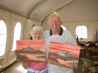 Coral Skies Bill & Pat Stewart