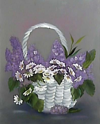Daisy-White Basket-1 (1997)