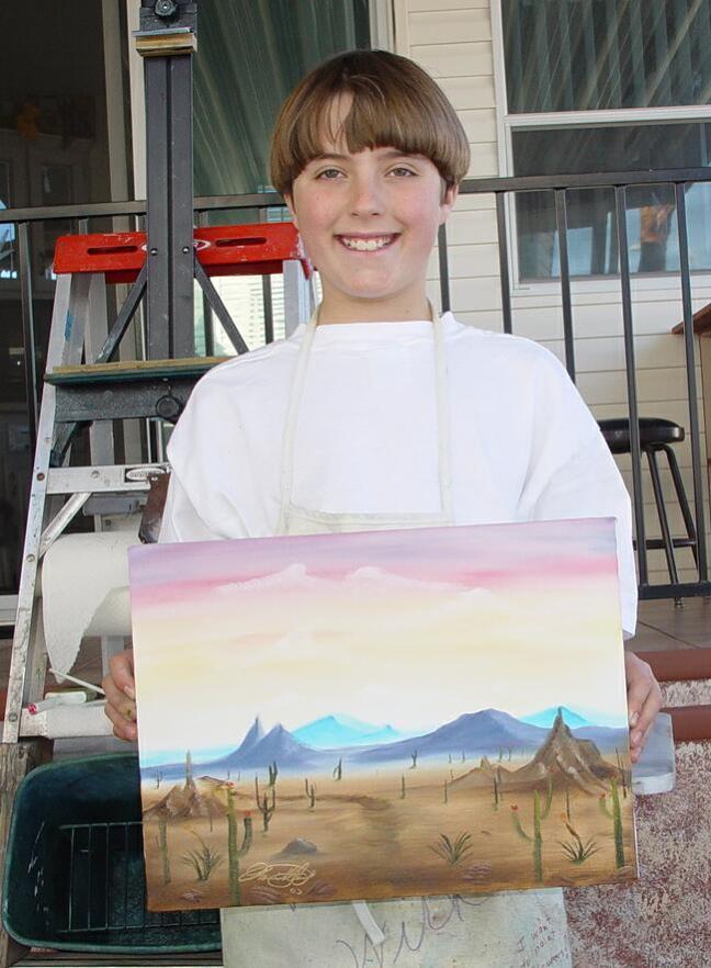 Michael Hertaus Painting 001