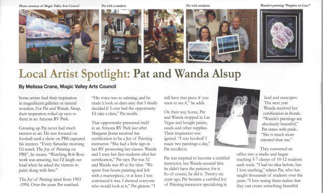 Spotlight page 1
