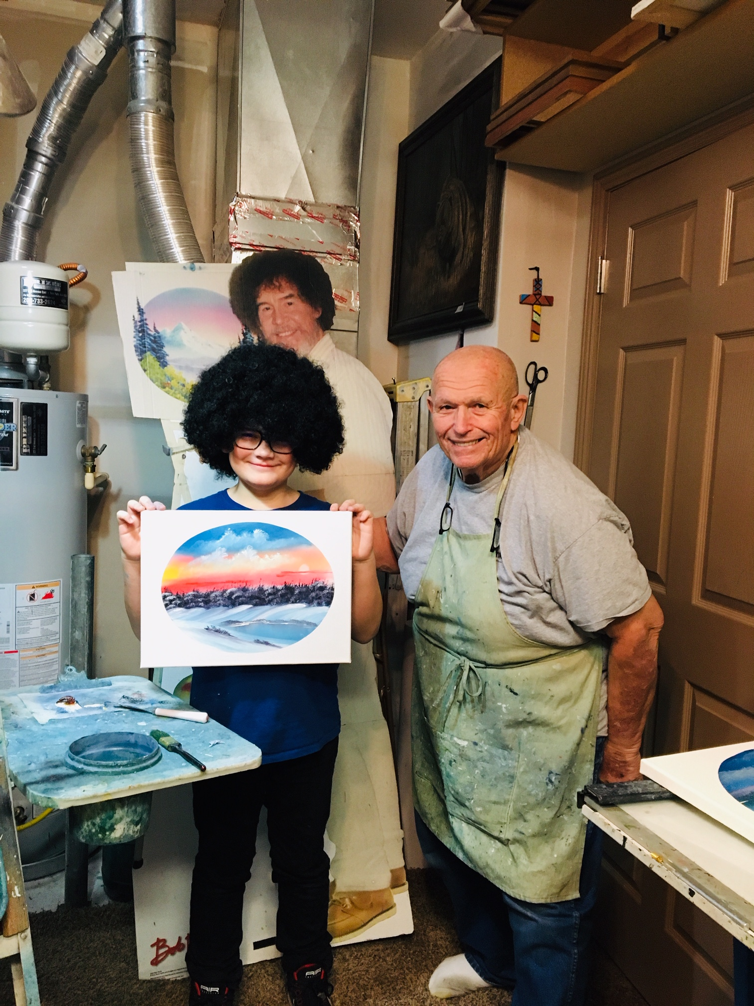 Student Of The Month Joy Of Painting With Pat