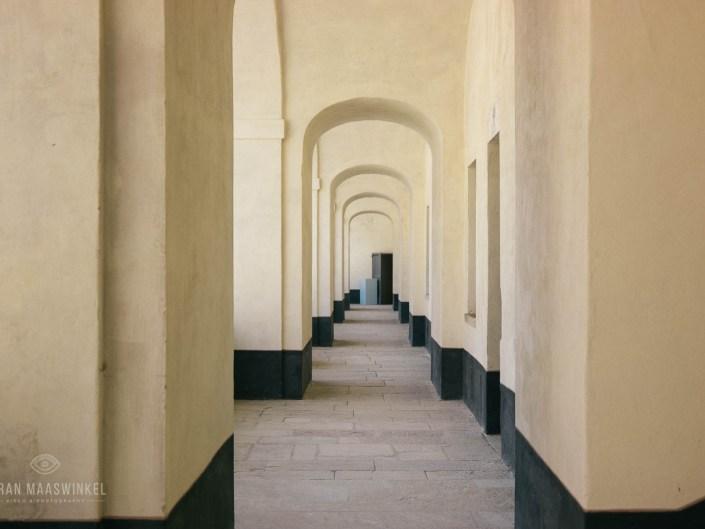 Fort of Exilles hallway