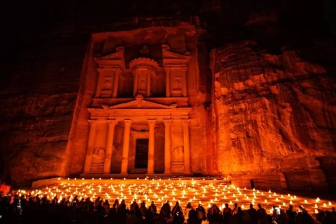 Petra By Night