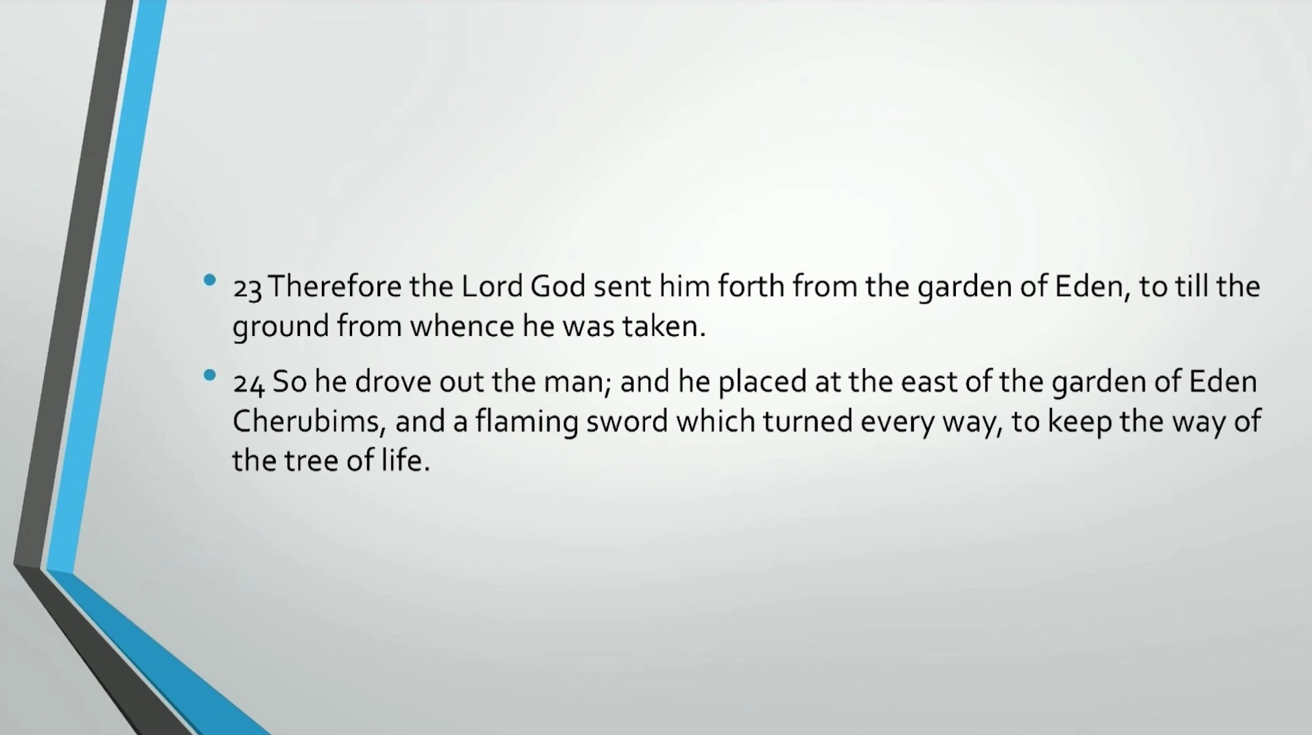 Bible Series Iv Adam Eve Self Consciousness Evil Death Circuit Design Suite Screenshot 23 Therefore The Lord God Sent Him Forth From Garden Of Eden To Till Ground Whence He Was Taken So Drove Out Man And Placed At