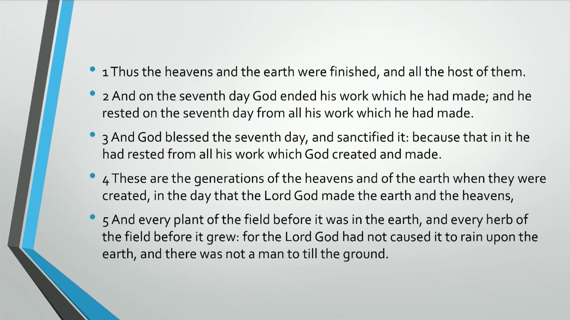 Bible Series IV Adam & Eve Self Consciousness Evil & Death
