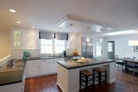 Commercial Interior Kitchen Living Room Photographer Jordan Bush Photography_Gingrich2
