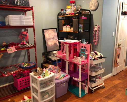 Messy Childs Playroom, playroom, toys organize