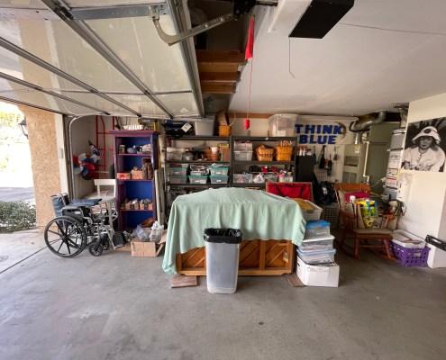 Organized Garage, Shelving Unit