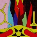 Tarot. Mystereum. The Presence of the Fabric Symbol