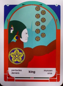 King of Pentacles (c) 2010 Jordan Hoggard