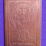 Alchemy Created These Copper Tarot Birth Card Talismans