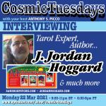 I'll Be on Astrologer Anthony Picco's Cosmic Tuesdays Show Tonight, Monday 3/22/21 at 9:30p.  Monday at 9:30p EST is already Cosmic Tuesday to you all in the future Time zones from over here