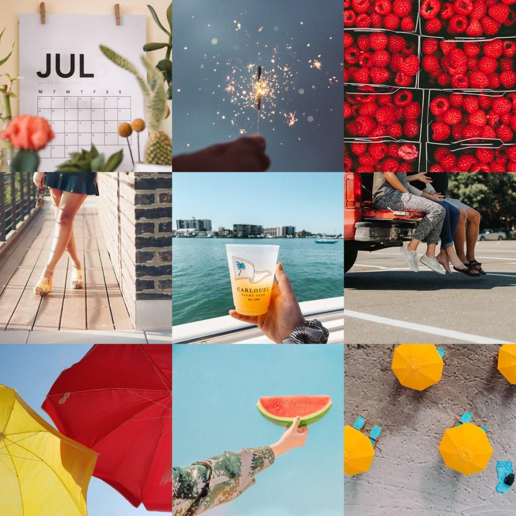 July Mood Board