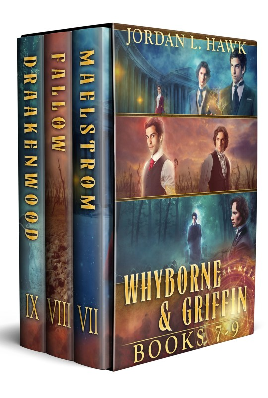 Whyborne and Griffin, Books 7-9