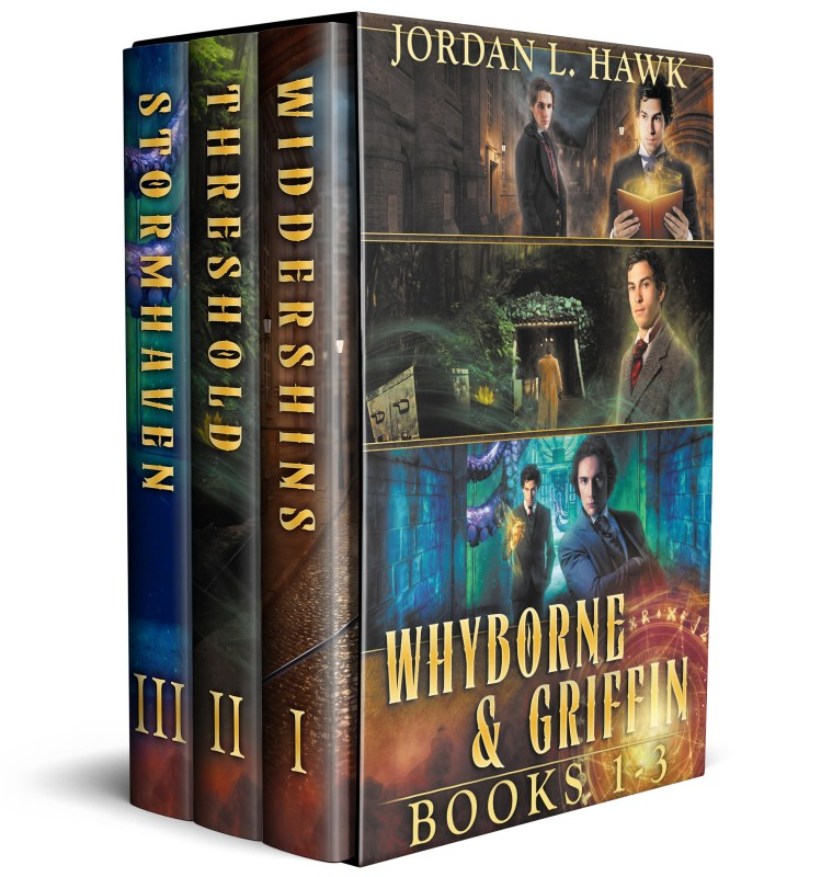 Whyborne and Griffin, Books 1-3