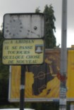 "2.- ""In Abidjan there is always something new happening."" This sign, with the broken clock above, says a lot about Abidjanais self-perception as the city that runs – despite the crisis that has left lives on hold."