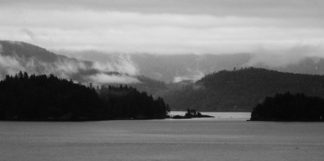 Grace Islands as seen from Langdale Ferry Terminal