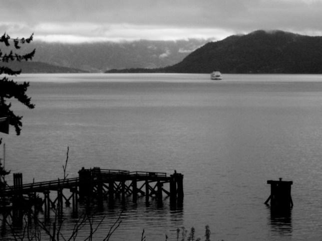 Queen of Coquitlam crossing Howe Sound