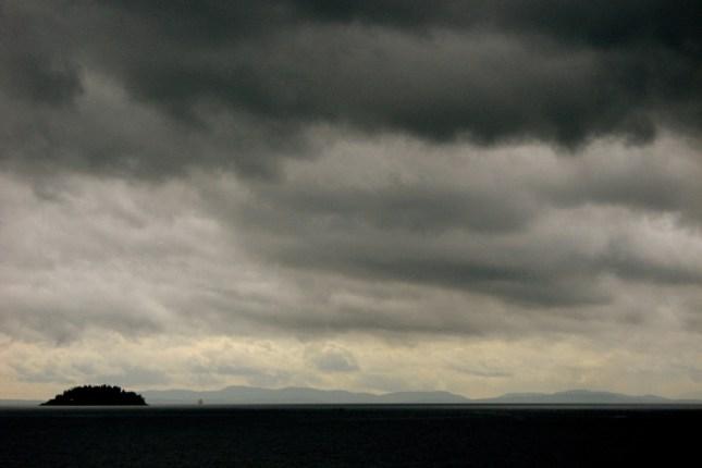 past Passage Island