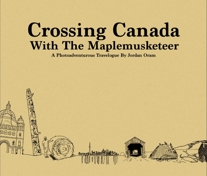 Crossing Canada with the Maplemusketeer eBook Launch!