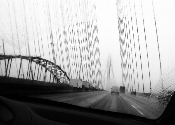 Crossing The Fraser River