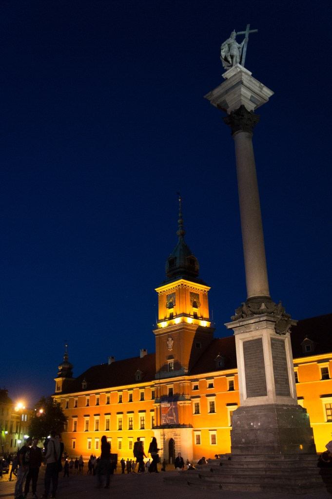 Sigismund's Column in front of the Royal Castle