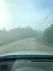Jordan Road work fog