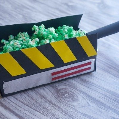 Slimer Popcorn and Ghost Trap Treat Boxes