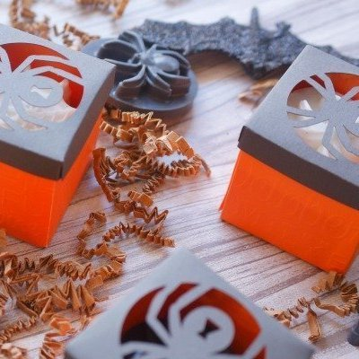How to make Halloween Treat Boxes
