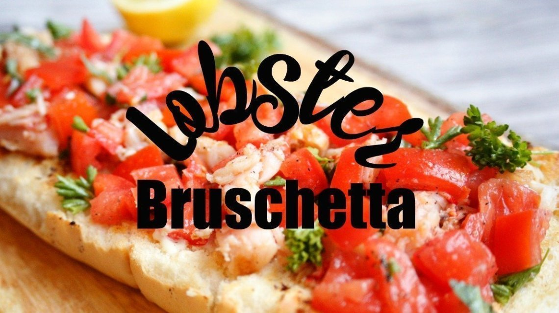Lobster Bruschetta (adapted from Cooking Light)