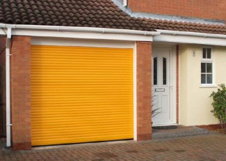 Garage Doors category page & drop down pic