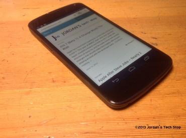 JTS on Nexus 4