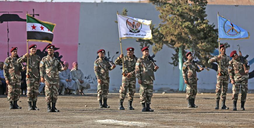 """Résultat de recherche d'images pour """"Syrian rebels build an army with Turkish help, face challenges"""""""