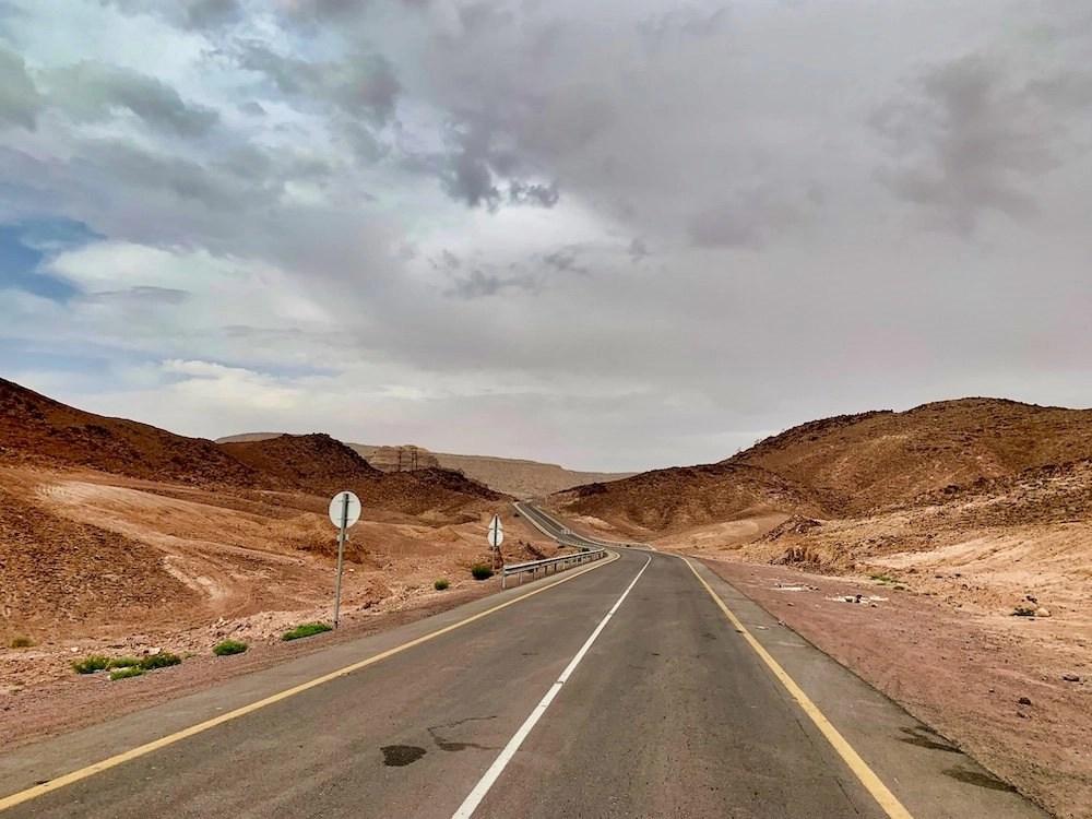Driving in Jordan - Two-Lane Road