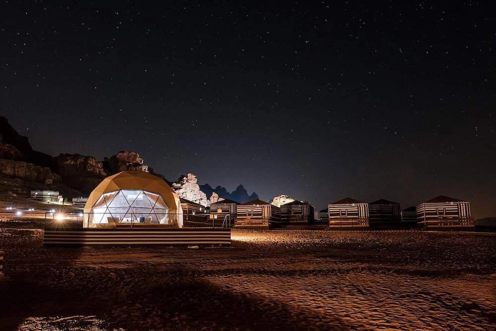 Stargazing in Jordan - Wadi Rum Martian Camp
