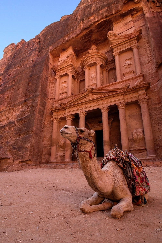 Petra Hiking - Treasury on Main Trail
