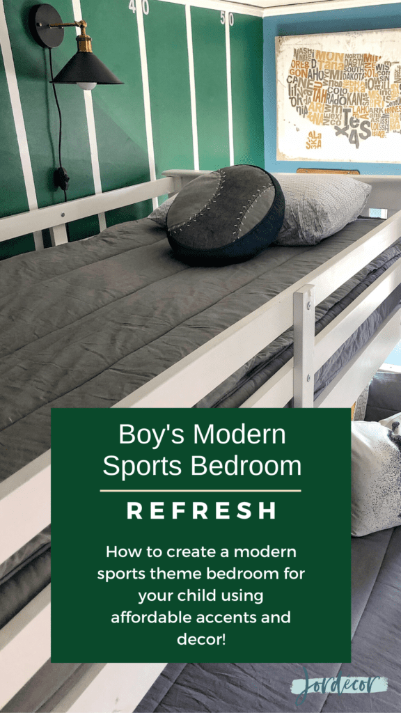 boy s modern sports bedroom jordecor
