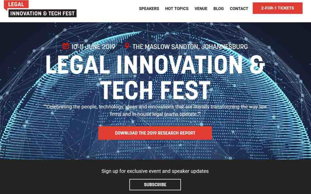 Legal Innovation & Tech Fest: the ultimate contracts management system