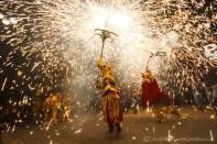 Ceptrots encesos del Llucifer i la Diablessa del Ball de Diables de Vilanova