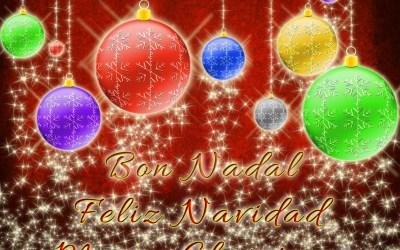 Bon Nadal, Feliz Navidad, Merry Christmas.