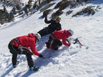 Preparando seta de nieve