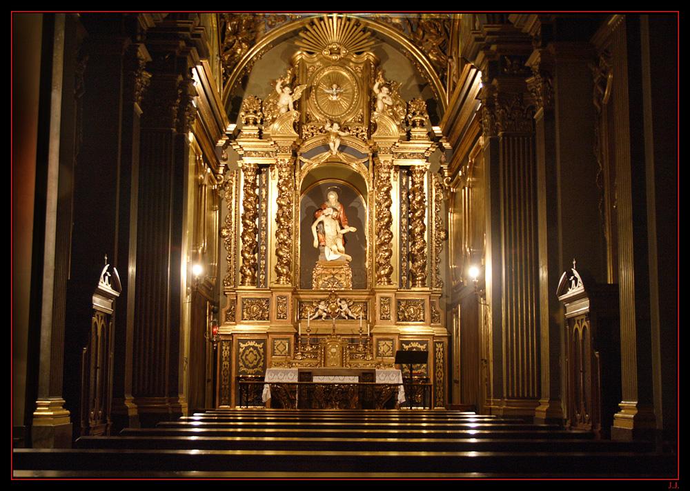 Altar Barroco-Sant Juan de les Abadeses