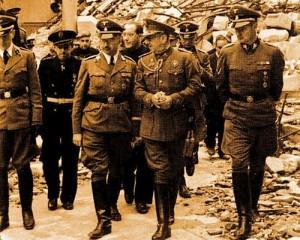El jerarca nazi tenía una misión...