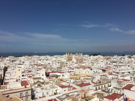View from Torre Tavira. 360 degree view of the entire city. €5 entry.